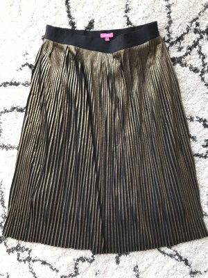 Suzanna Pleated Skirt gold-colored-black