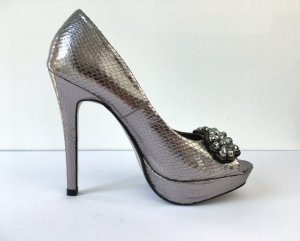 Next Peep Toe Pumps zilver