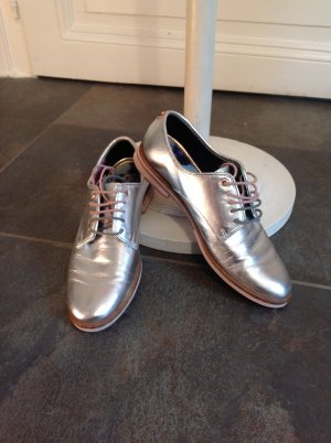 Ted baker Wingtip Shoes light grey-silver-colored