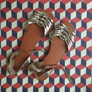 Metallic Sandalen ASOS