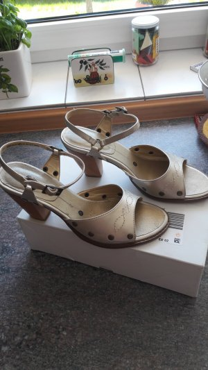 s.Oliver Strapped Sandals silver-colored-gold-colored