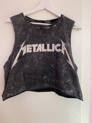 Metallica cropped Top