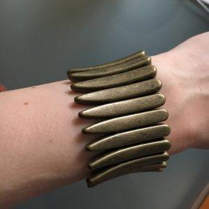 Metallisches Armband Metallgoldfarben