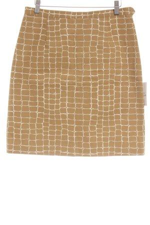 Metradamo Pencil Skirt primrose-beige animal pattern elegant