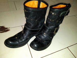 Mexicana Handmade Old Gringo Boots Stiefel Stiefeletten d.g. € 699