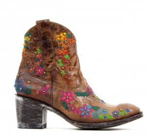 Mexicana Special Edition Stiefel bestickt, Blogger Look