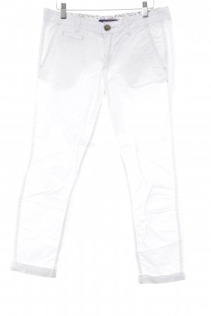 Mexx 3/4 Length Trousers white casual look