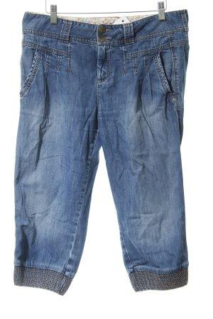 Mexx 3/4 Jeans kornblumenblau Casual-Look