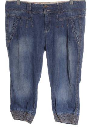 Mexx 3/4 Jeans stahlblau sportlicher Stil