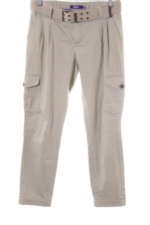 Mexx 7/8-Hose beige Casual-Look