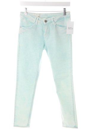 Mexx Jeans a 7/8 turchese-menta motivo batik