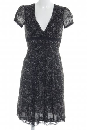 Mexx A-Linien Kleid Blumenmuster Casual-Look