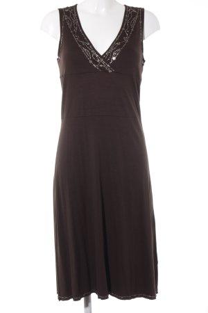 Mexx A-Linien Kleid braun Elegant