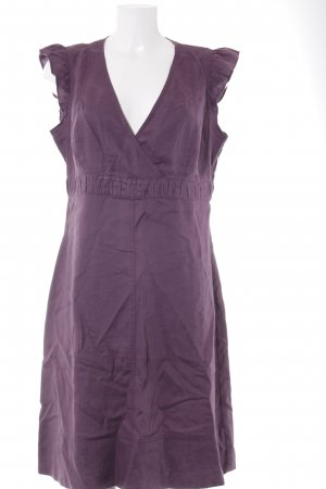 Mexx A-Linien Kleid purpur Beach-Look