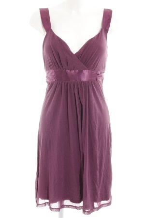 Mexx A-Linien Kleid purpur Casual-Look