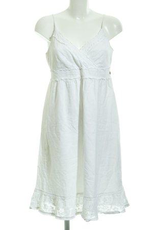 Mexx A-Linien Kleid weiß Boho-Look