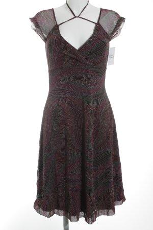 Mexx Abendkleid abstraktes Muster klassischer Stil