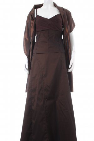 Mexx Abendkleid dunkelbraun Elegant