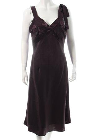 Mexx Abendkleid dunkelviolett Eleganz-Look