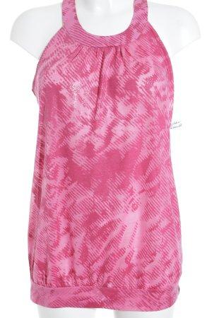 Mexx ärmellose Bluse magenta-rosa Casual-Look