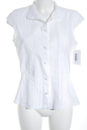 Mexx ärmellose Bluse weiß Elegant