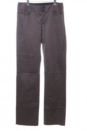 Mexx Suit Trouser brown check pattern casual look