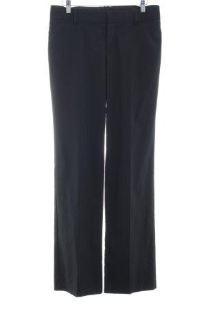 Mexx Pantalon de costume gris anthracite motif rayé style d'affaires