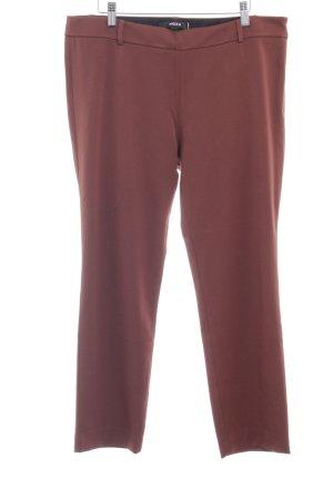 Mexx Pantalone da abito cognac stile professionale