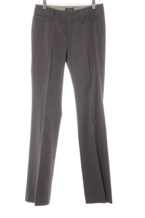 Mexx Pantalone da abito marrone-grigio stile professionale