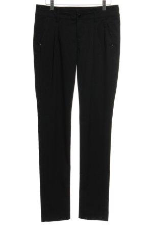Mexx Pantalon de costume noir élégant