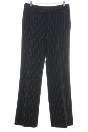 Mexx Anzughose schwarz Streifenmuster klassischer Stil