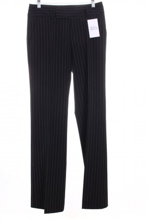 Mexx Anzughose schwarz-weiß Nadelstreifen Business-Look