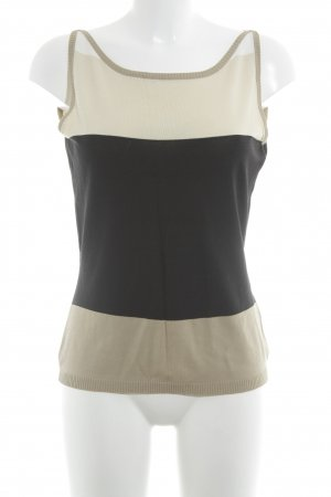 Mexx Basic Top Streifenmuster Casual-Look