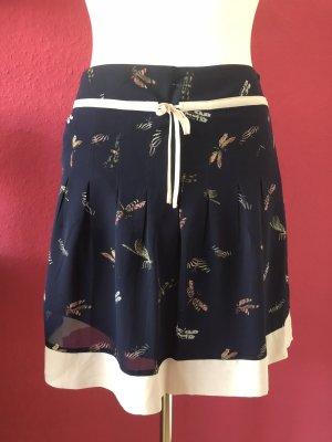 Mexx blauer Hüftrock mit Schleife