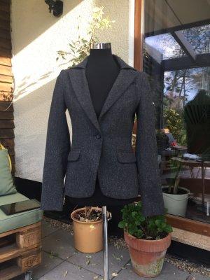 Mexx Tweed blazer antraciet