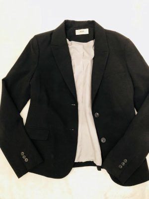 Mexx Veste de smoking noir-blanc