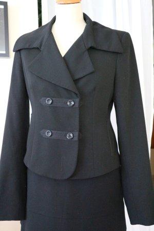 MEXX Blazer Jacke - Millitary-Style - schwarz - Gr. 38