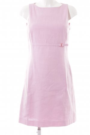 Mexx Pencil Dress pink weave pattern casual look