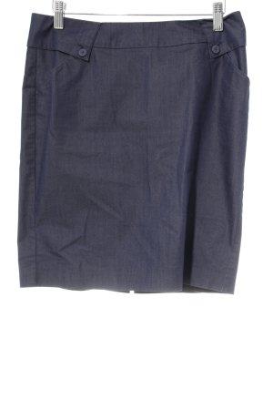 Mexx Bleistiftrock blau-dunkelblau Jeans-Optik
