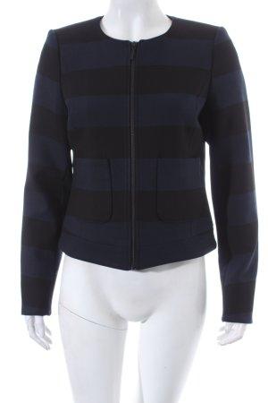 Mexx Blouson schwarz-dunkelblau Ringelmuster schlichter Stil