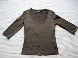 mexx bluse khaki gr. s 36 neuwertig