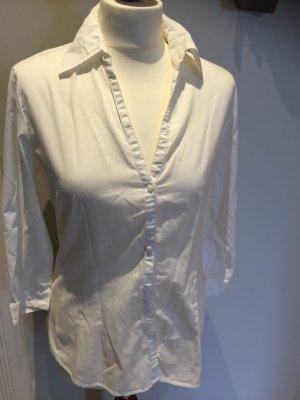 MEXX Bluse mit 3/4-Arm, weiß, Gr. 38, wie neu