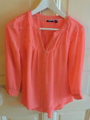 Mexx Bluse Tunika Corale Rosa Gr. 36 Rose Hemd Oberteil
