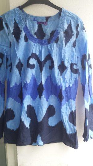 Mexx Blusen Tunika in Schönen Blau tönen