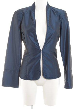 Mexx Chaqueta tipo blusa azul oscuro elegante