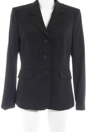 Mexx Veste chemisier noir motif rayé style d'affaires