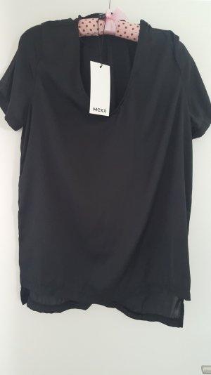 Mexx Blusenshirt in schwarz