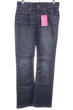 Mexx Jeans bootcut bleu foncé style décontracté