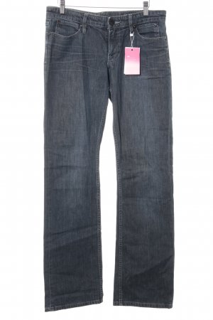 Mexx Boot Cut Jeans dunkelblau Casual-Look
