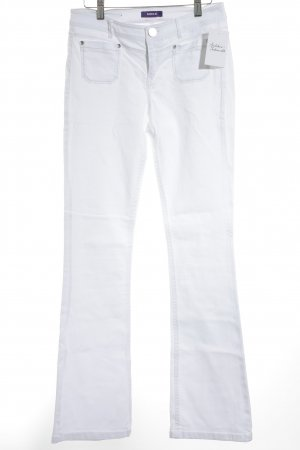 Mexx Boot Cut Jeans weiß Casual-Look